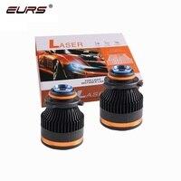 EURS LED H7 H11 LED H8 H9 HB3 Hb4 9005 9006 Laser headlight bulb Laser Car LED headlight bulb for Fog light High beam Spot Light