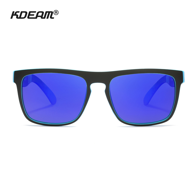 KDEAM Polarized Sunglasses Classic Design All-Fit Mirror Sunglass With Brand Box CE 2