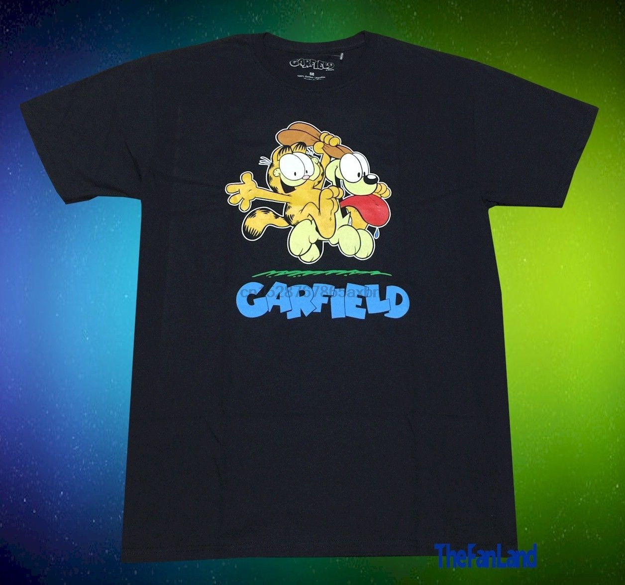 New Garfield The Cat Odie Vintage Mens T Shirt T Shirts Aliexpress