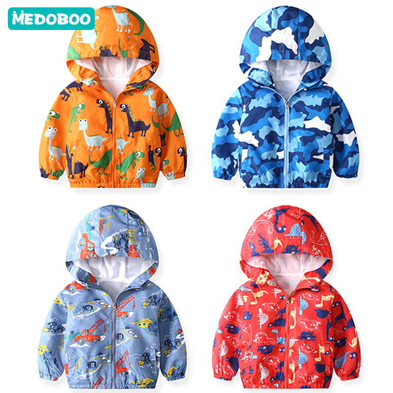 Medoboo Fashion Children Clothes Baby Coats Jacket for Girls Boys Cartoon Spring Autumn Hoodie Undershirts Sweatshirt