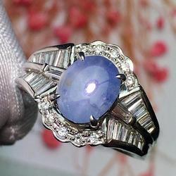 Изысканные ювелирные изделия Pt900, реальное Платиновое золото, 100% натуральная женская бижутерия, драгоценные камни, сапфировые бриллианты, б...