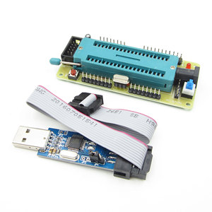 1 Набор ATMEL для ATMEGA16 ATmega32 AVR, минимальная системная плата + USB ISP USBasp программа