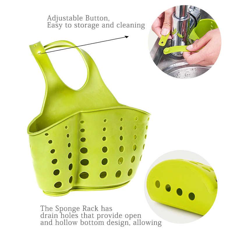 KONCO sac de rangement d'évier   Porte-évier, savon, Portable, sac de vidange suspendu pour la maison, panier de bain, outils de rangement