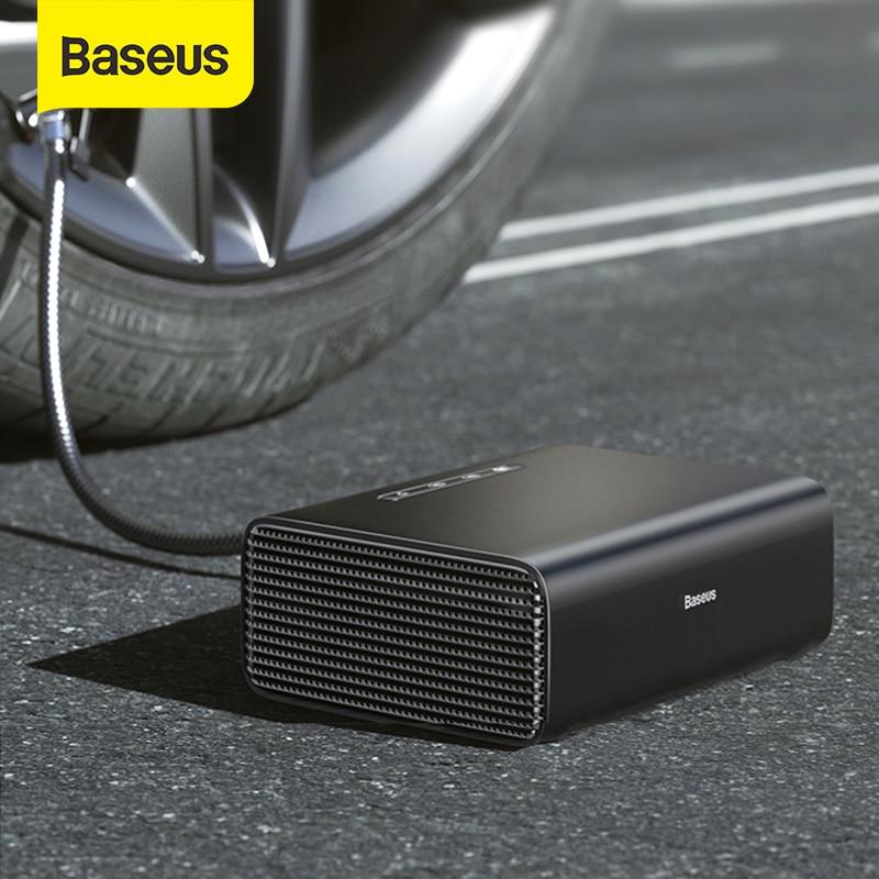 Baseus Inflatable Pump 12V Air Compressor Car Tyre Inflator Intelligent Electric Air Pump Air Compressor