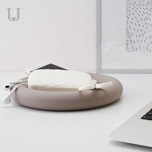 Image 5 - Youpin JordanJudy fashion Creative Silicone tray Mobile watch ring jewelry placement dedicated Storage Box