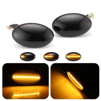 Indicador lateral de luces LED para coche, repetidor de luces de señal para Mercedes Benz Smart W450 W452 Clase A W168 Vito W639 W447 W415, 1 par