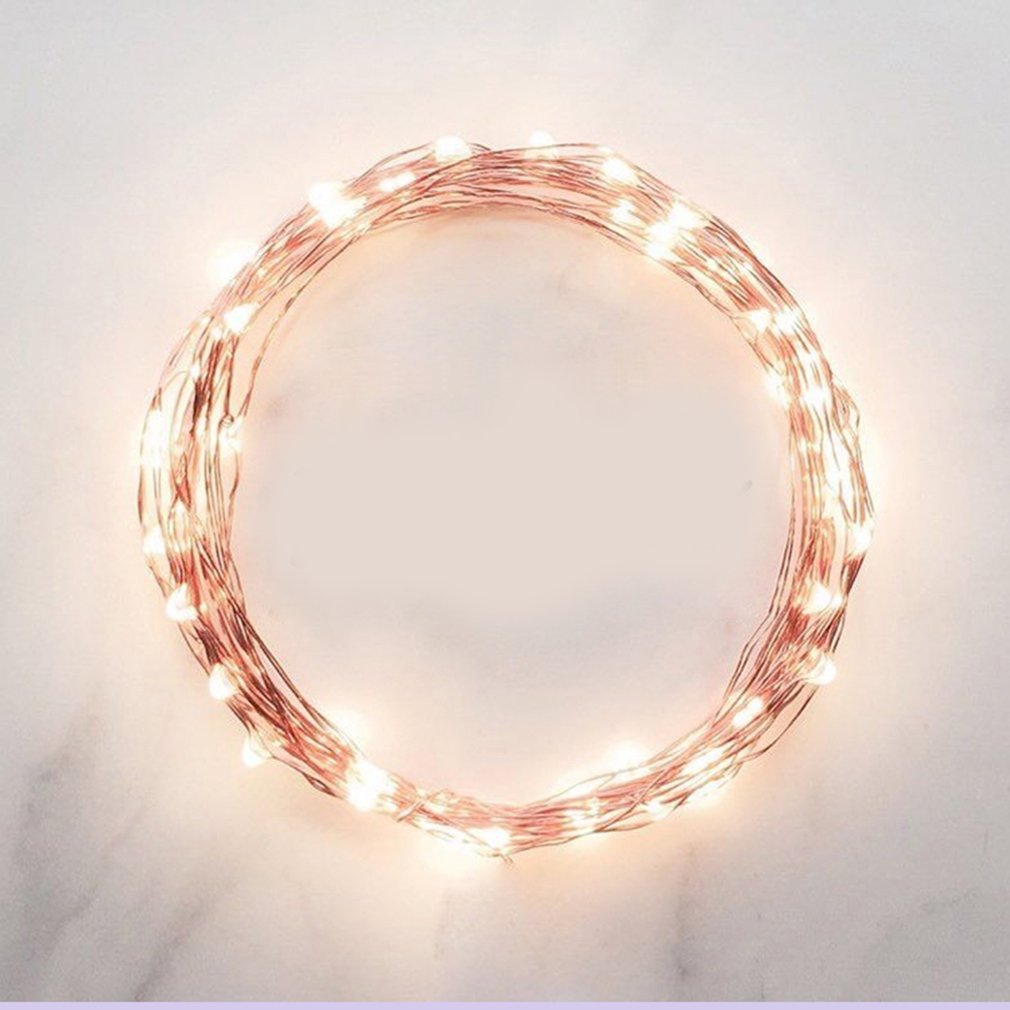 Fairy Colorful Ice Cream Battery Operated String Lights Luminaria LED Decor For Christmas Garland On The Window horse lantern