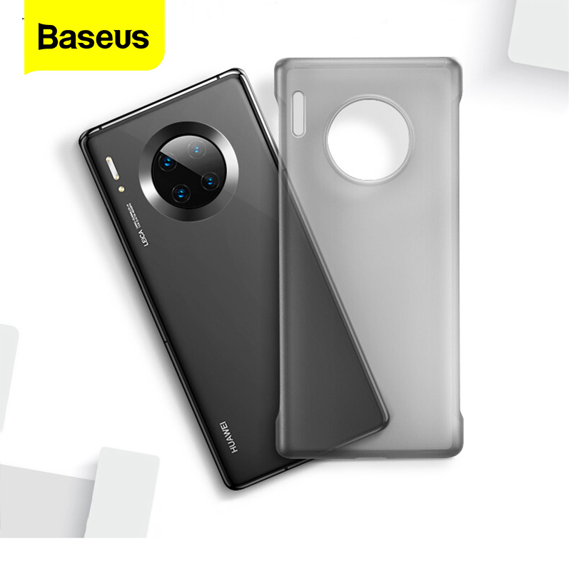 Baseus Transparent Phone Case For Huawei Mate 30 Pro 30 Silicone Case Shockproof Soft Back Cover For Mate 30 Mate30 Coque Fundas