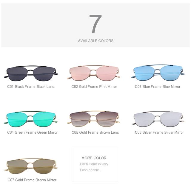 Gafas de sol del ojo de gato