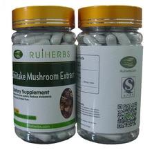 (1Bottle=90pcs) Shiitake Mushroom Extract Lentinus edodes 30% Polysaccharides Caps free shipping 3bottles complex mushroom extract maitake reishi shiitake 30