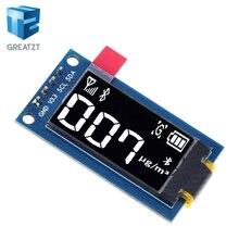 Greatzt 0.96 polegadas oled display 64 × 128 módulo lcd ssd1107 lcd 0.96