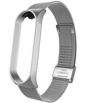 Strap For Xiaomi Mi Band 3 4 Screwless Stainless Steel MIband Wrist Metal Bracelet for Mi Band 4 3 Strap Wristbands Pulseira