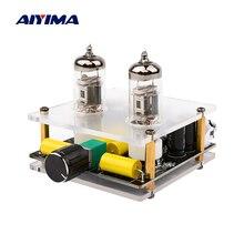AIYIMA placa amplificadora de tubo de vacío 6J3, preamplificador de tubo HiFi de preamplificación, búfer de bilis, amplificador de altavoz para cine en casa DIY