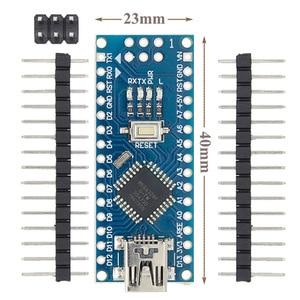 Image 3 - 10PCS 미니 USB/마이크로 USB 나노 3.0 ATMEGA328P/ATMEGA168P ardunio 컨트롤러 호환 나노 CH340 USB 드라이버