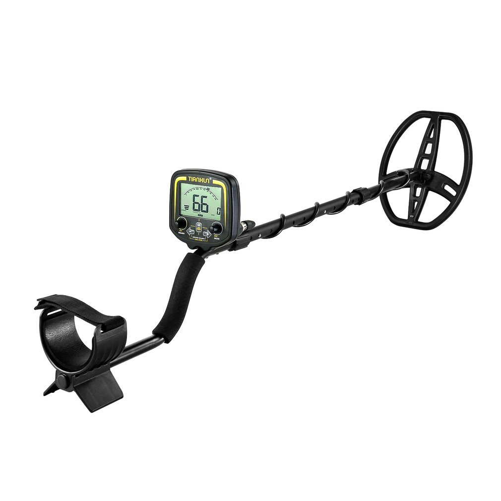 TX-850 Metal Detector Metal Finder LCD Display Discrimination Mode Depth 2.5m Scanner With Headphone&P/P Function NEW Promotions