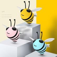 クリエイティブ蜂空気清浄換気アウトレットクリップインテリア装飾風味自動パフュームディフューザー車フレグランス消臭