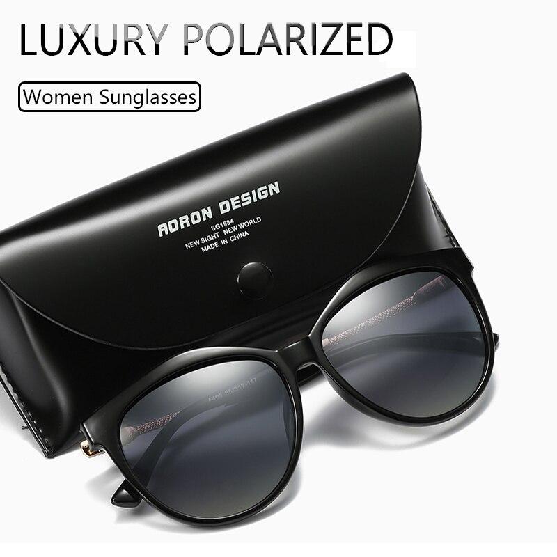 Luxury Polarized Sunglasses Women 2020 Metal temples sunglasses women 2021 Gradient Lens Sun Glasses Women Luxury Brand Women's Sunglasses  - AliExpress