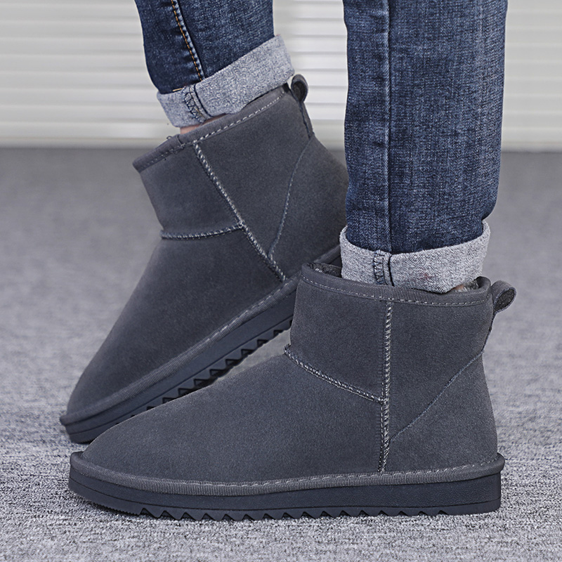 Mens Winter Snow Boots Botas De Nieve Bota Neve Snowboots Kar Botu Botines Hombre Boot Men Shoes High Top Booties Ankle Unisex