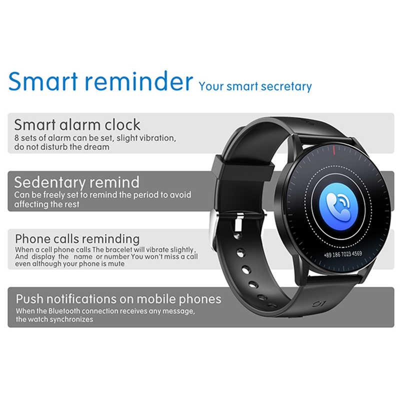 KaiHai smart watch sonno monitor di Frequenza Cardiaca di smartwatch salute Inseguitore di Fitness cronometro inteligente per android ios