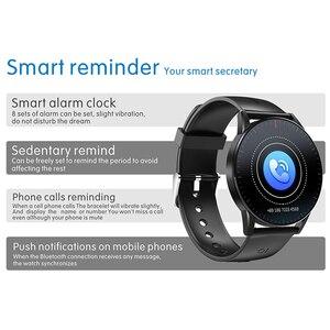 Image 4 - Kaihai smart watch睡眠スマートウォッチ心拍数モニター健康フィットネストラッカーストップウォッチinteligenteアンドロイドios用