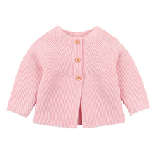 Baby Sweater For Girls Autumn Knitted Jacket and Coat Newborn Cardigan Cotton Pullover