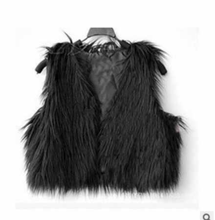 2019 Vetement Mùa Đông Nữ Giả Da Cừu Áo Khoác Lông Thú Lông Xù Sexy Áo Plus Kích Thước Áo Lolita Slim Hoang Dã Áo Vest Sang Trọng áo AW200