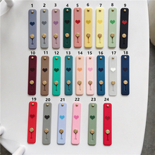 Universal Phone Stand bracket Push and pull Stand stretch grip phone Holder Finger Cute Love Heart stand for iphone 7 8 X