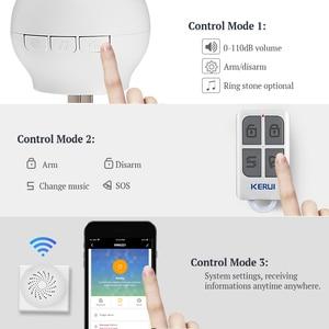 Image 4 - KERUI Tuya Multifunctional Gateway WIFI Home Security Intelligent Smart Alarm System Work With Google Assistant/Alexa Control