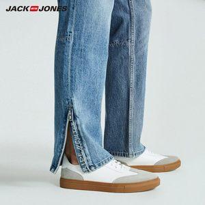 Image 3 - JackJones Autumn Mens Trend Stitching Casual Versatile Jeans 218332529