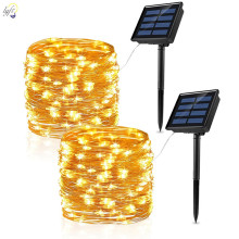 Decoration String-Lights Garland Solar-Lamp Fairy Christmas-Party Garden Outdoor Waterproof