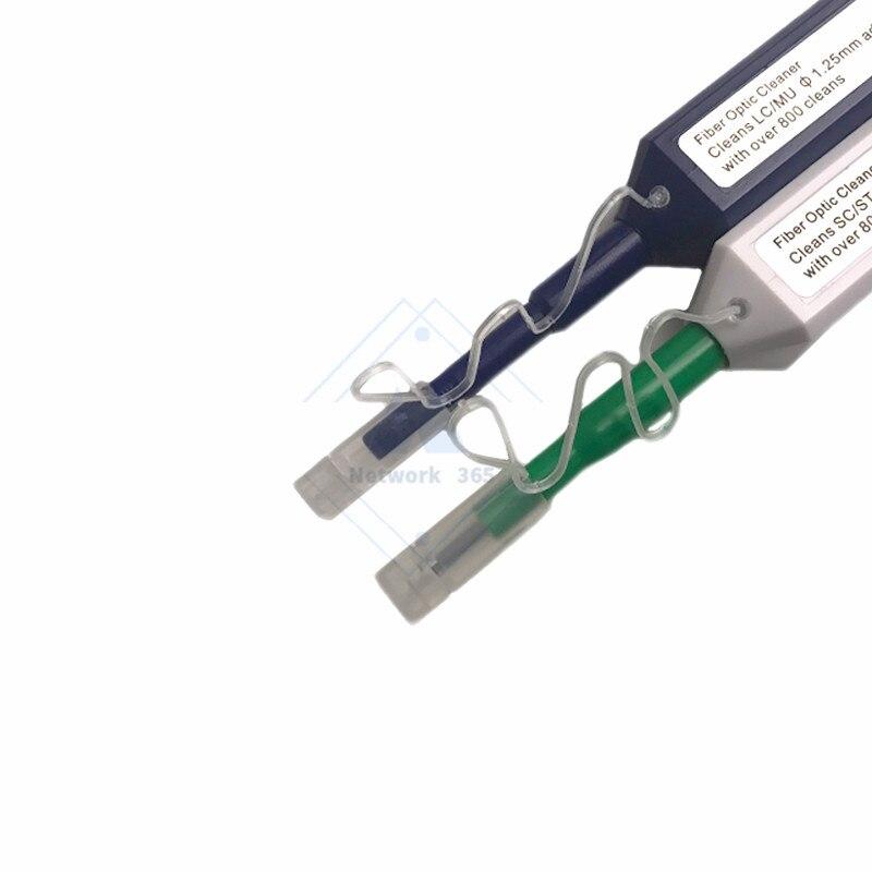 Image 4 - 2 шт./лот LC/SC/FC/ST один клик инструмент для очистки 1,25 мм или волоконно оптическая Ручка для очистки 2,5 мм универсальный разъемОптоволоконное оборудование    АлиЭкспресс