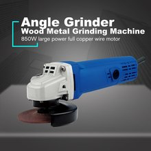 цена на 10000rpm Electric Angle Grinder Polisher Polishing Machine for Metal Wood Cutting Grinding Power Tools US/EU/AU
