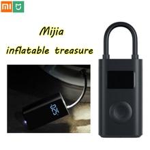 Xiaomi Mijia nadmuchiwane skarb inteligentne cyfrowe wykrywanie ciśnienia w oponach elektryczna pompa Inflator na rower motocykl samochód piłka nożna