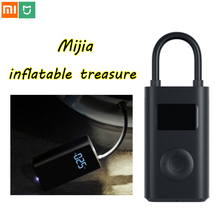 Xiaomi mijia tesouro inflável inteligente digital de detecção pressão dos pneus inflator bomba elétrica para moto carro futebol