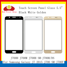 купить 10Pcs/lot Touch Screen For Samsung Galaxy J7 2015 J700 J700F J700H J700M J700H Touch Panel Front Outer Lens J7 2015 LCD Glass недорого