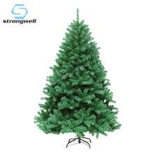 Strong well 120/150/180/210CM cryptage artificiel arbre de noël décorations décoration de noël décor à la maison arbre vert