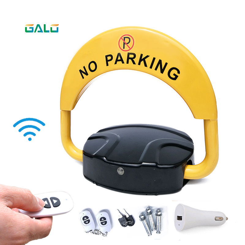 Car Intelligent Remote Control Parking Lock Thickened Anti-collision Garage Automatic Induction Waterproof Parking Barrier Lock