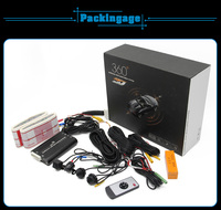 LED headlight with Car driving and Parking monitoring system for Universal Cars