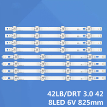 Barre de remplacement rangée de LED rétro éclairage pour LG 42LB580V 42LB5500 42LF580V 42LB650V
