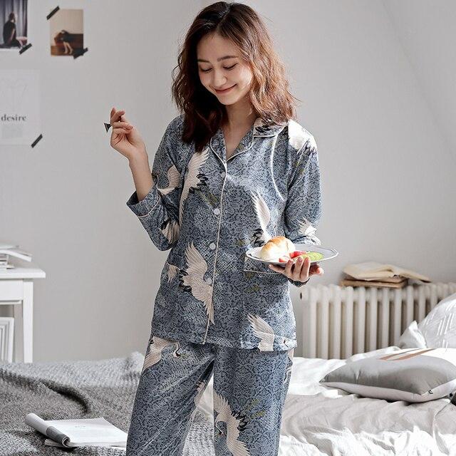 Autumn Women Pyjamas Jumpsuits & Pyjama Sets Women color: 985