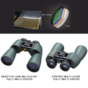 Image 3 - SCOKC Hd 10X50 powerful zoom Binoculars telescope for hunting professional high quality no Infrared army Low night vision