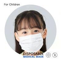 10 pièces/sac enfants masque de visage boucles d'oreilles jetable Anti poussière bouche masque pour enfant livraison rapide Masques médicaux     -