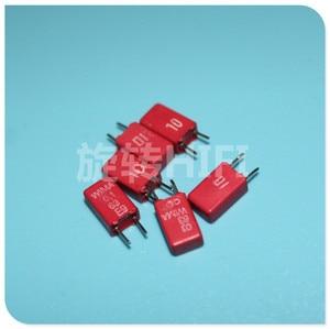 Image 1 - 20pcs פירוק מקורי אדום WIMA MKS02 0.1UF 63V 100NF 104/63V p2.5 104 100nF/ 63v 0.1 uF/63 v