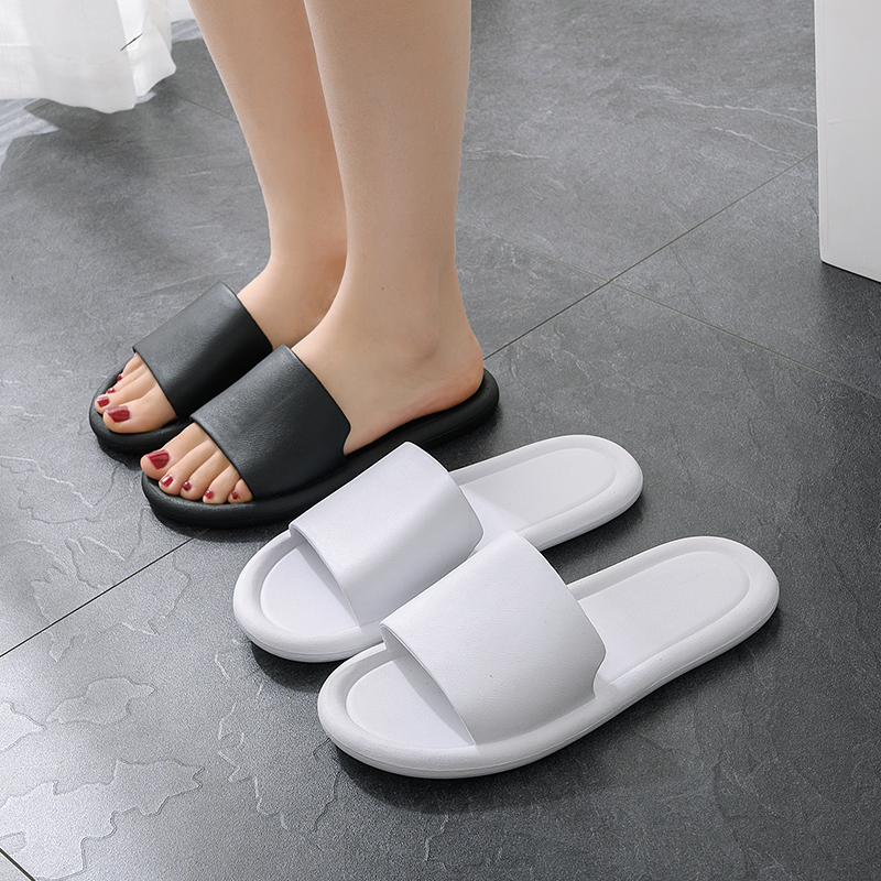 FZNYL Home Slippers Men Women's Flat Indoor Sandal Soft Comfortable Bath House Slipper Ladies Bedroom Shoes Big Size Flip Flop