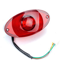 Lamps Tail Light For Monkey DC 12V Weatherproof Motorcycle Scooter 12V Warning(China)