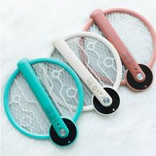 Mosquito Swatter Racket Fly-Killer Insect Electric Rechargeable Handheld USB Foldable