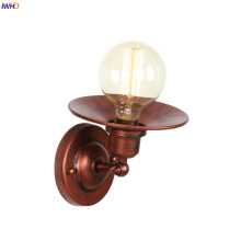 IWHD Luminaria Retro Wall Lights For Home Lighting Mirror Stair Loft Decor Industrial Wall Light LED Applique Murale Vintage