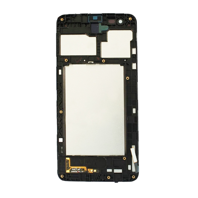 New For <font><b>LG</b></font> K4 2017 <font><b>M160</b></font> M150 <font><b>LCD</b></font> Display Fortune Touch Screen Digitizer Full Assembly Black with Frame image