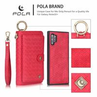 Case for samsung note 10 High end zipper wallet case for samsung s8 s9 s10 s8/s9/s10 plus s10 lite note 8 9 10 note 10+ fashion.