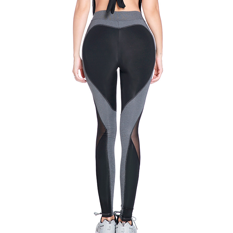 Spring New Style Peach Buttock Lifting Fitness Pants Wicking Breathable Ultra-stretch Yoga Running Trousers Sports Leggings